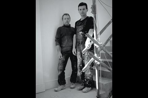 Kazimierz Molenda (left), 45, came to the UK in 2002 after failing to find a job in Poland.